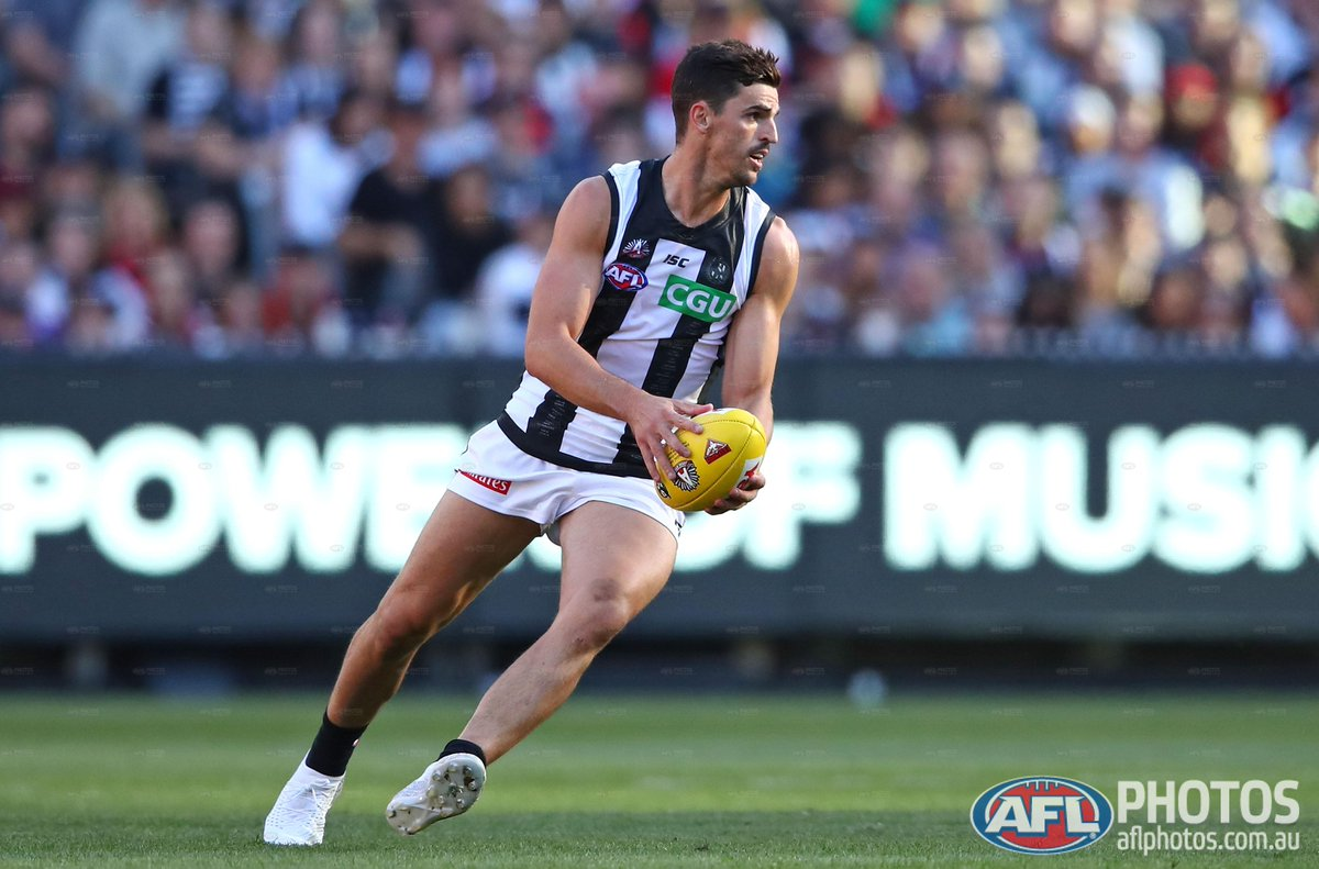 Afl On Twitter Scott Pendlebury Has Won His Third Anzac Day