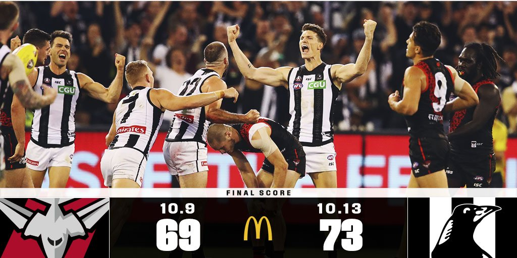 Over 92,000 fans flocked to see one of the closest Anzac Day games in its 25 year history.  Match report: https://afl.to/2L1XhGY