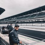 1st laps turned on the legendary @IMS for me today. Awesome and very special experience. Felt great out there at 220+ mph 😅🤙🏻 Bring on May! #ME7 #INDYCAR