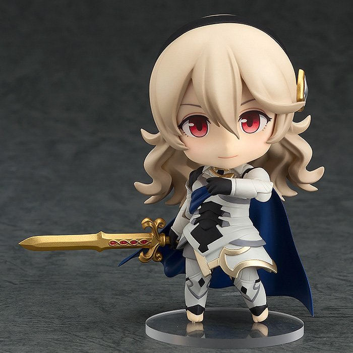 From #FireEmblemFates comes a rerelease of the #Nendoroid of the female version of the main character, Corrin! Pre-order today in the following link:  http:// hs.goodsmile.link/y65v50ry7SC  &nbsp;  <br>http://pic.twitter.com/69zHRZXB8g