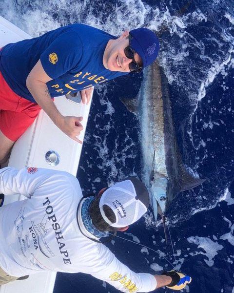 Kona, HI - Topshape went 2-3 on Blue Marlin and 1-1 on Spearfish.