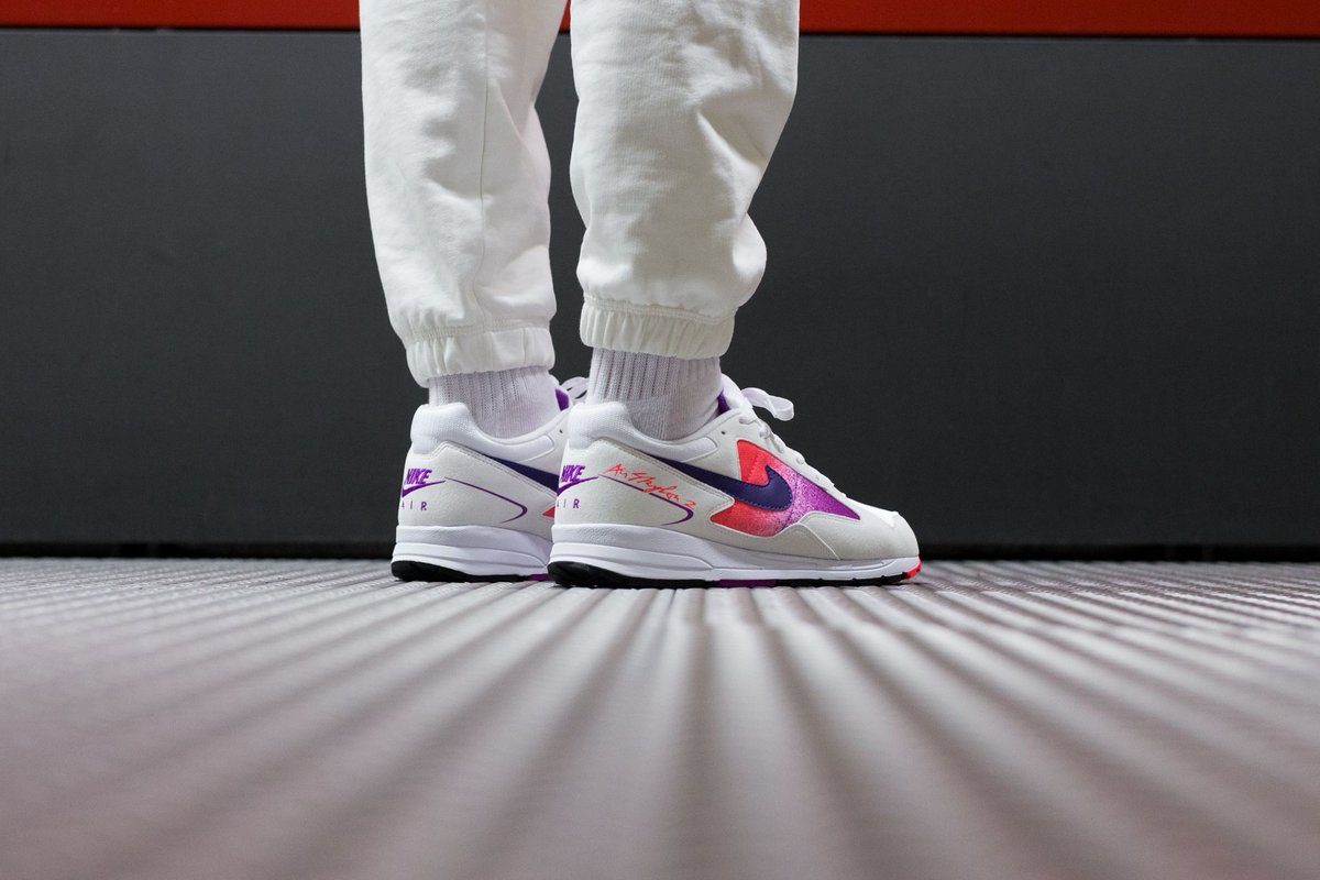 best loved 90751 09099  sale 💥 Nike Air Skylon II - White Court Purple-Solar Red buy