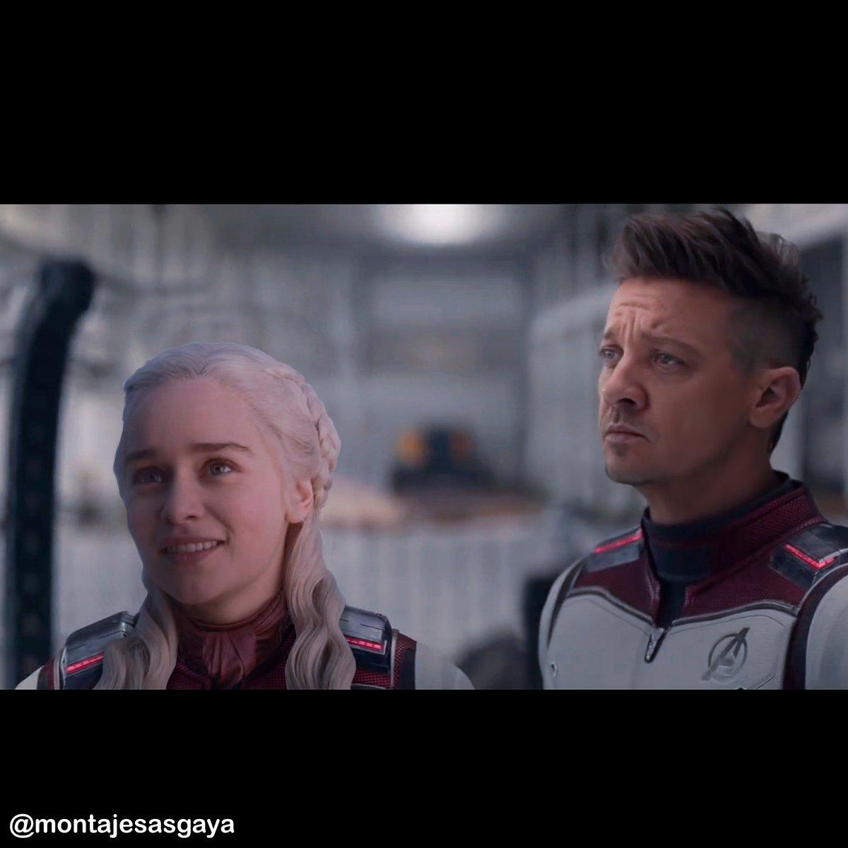 Daenerys joins the battle of the Avengers. @Avengers @MARVELSPAIN @GameOfThrones #AvengersEndgame #Avengers #EndGame @MarvelStudios #avengersendgame #Marvel @Russo_Brothers #Avengers4 @Avengers #Thanos #GameOfTrones