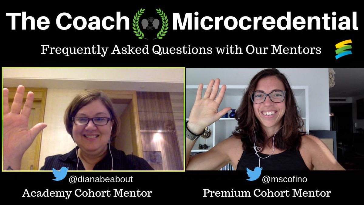 Have ❓❓ about The Coach Microcredential?! Only 3 days left ⏳ to decide if this is your next #profdev journey...listen to @dianabeabout & @mscofino answer YOUR ?s!  #EduroLearning #COETAIL #educoach #etcoaches #instructionalcoach #educoachoc #isedcoach  https://youtu.be/VI08ZrU4j2g