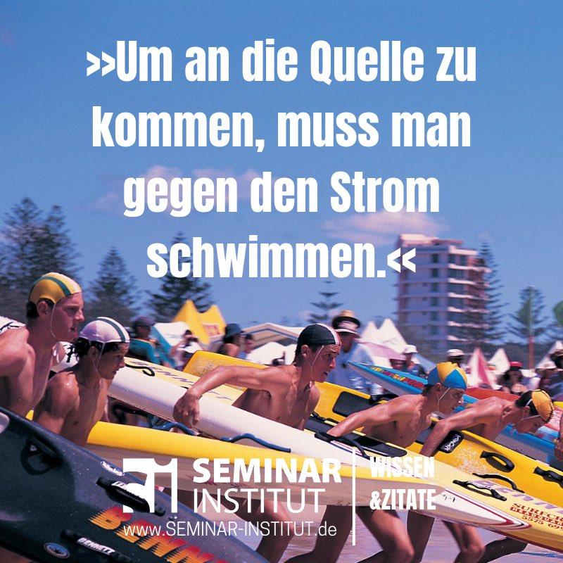 Seminar Institut On Twitter Wer Vorwärts Kommen Will Muss