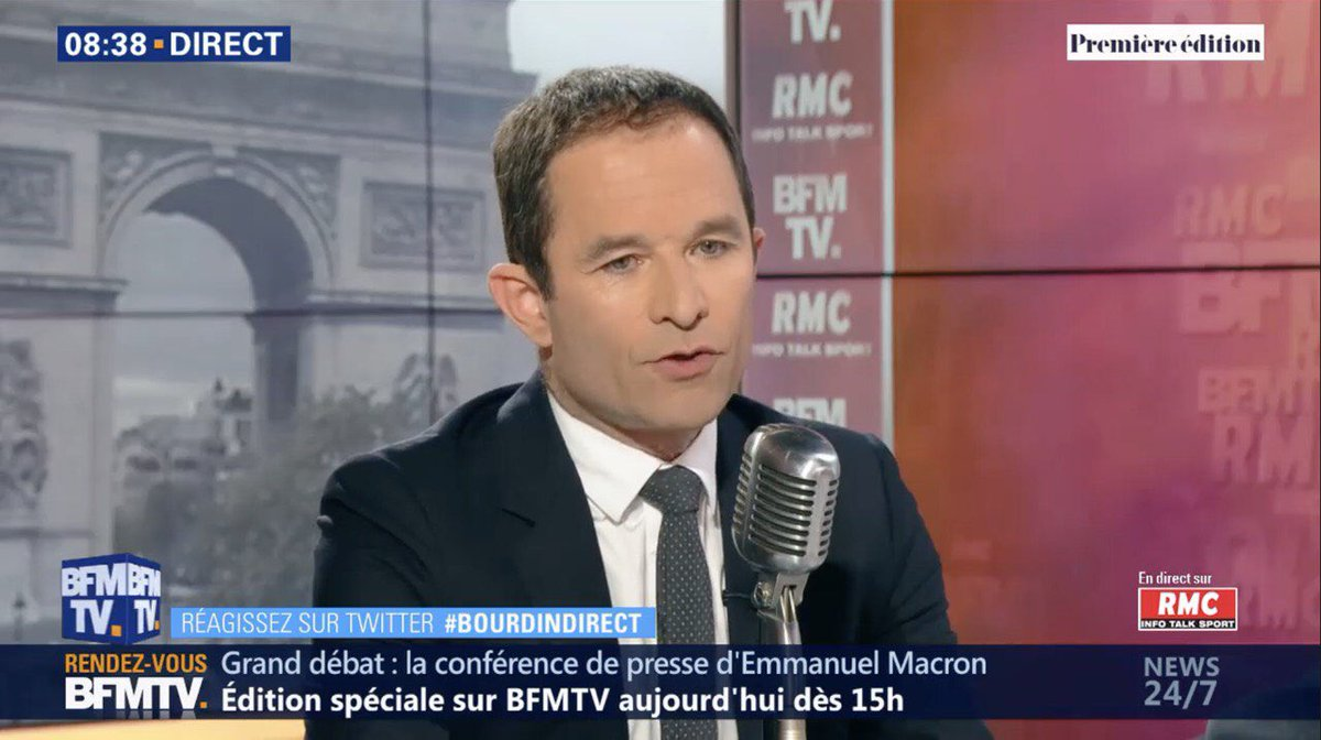 Benoît Hamon's photo on #bourdindirect