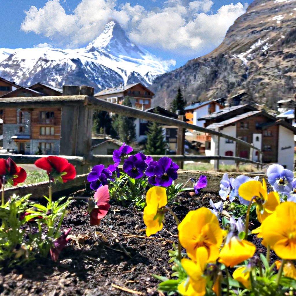 RT @zermatt_tourism: Enjoy your day ❤️ #zermatt #matterhorn #Switzerland https://t.co/veh4dbdf4T