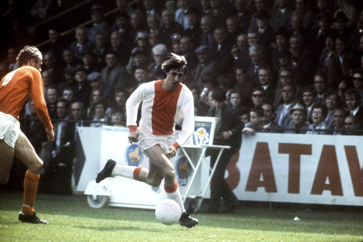 ⭐ — On this day in 1947, Amsterdam gave birth to a legend.  Hopefully you're looking down on this team with pride, Johan.