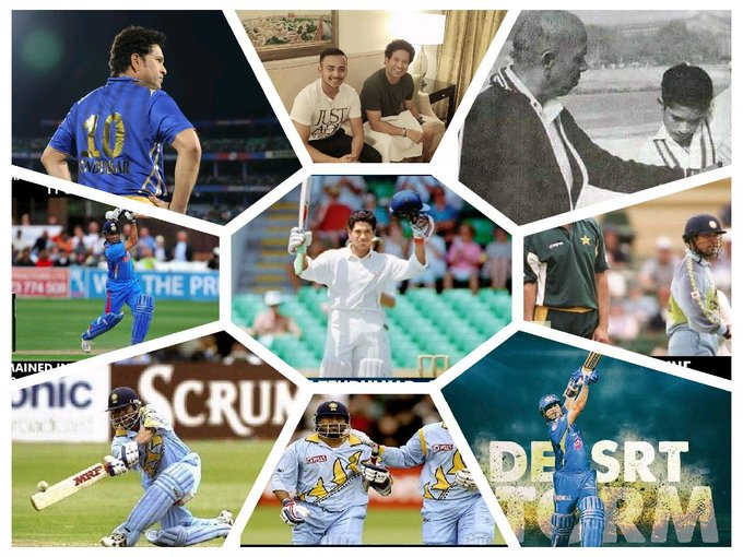 Advance Happy Birthday Master U r the inspiration to me in every situation of my life  Sachin tendulkar