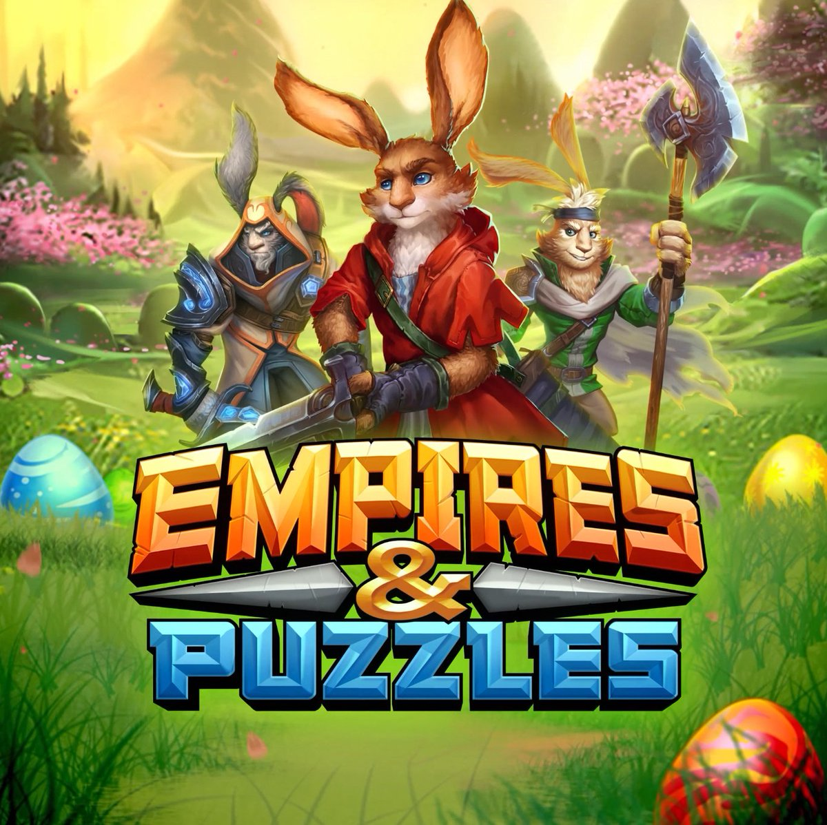 empires and puzzles download pending