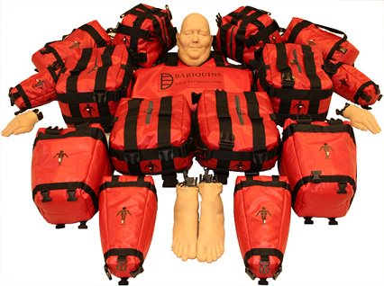 The 25st/350lb/159kg #Training mannequin. 15 weighted parts -max wt 16kg so 1 person can carry. Assemble in <10min youtu.be/J40JSHE6acI #Fire #Paramedic #Ambulance #NHS #Nursing #Rescue #HART #Firefighters #SAR #ISAR #Hospital #Care #BariatricTraining #Bariatric #PatientSafety