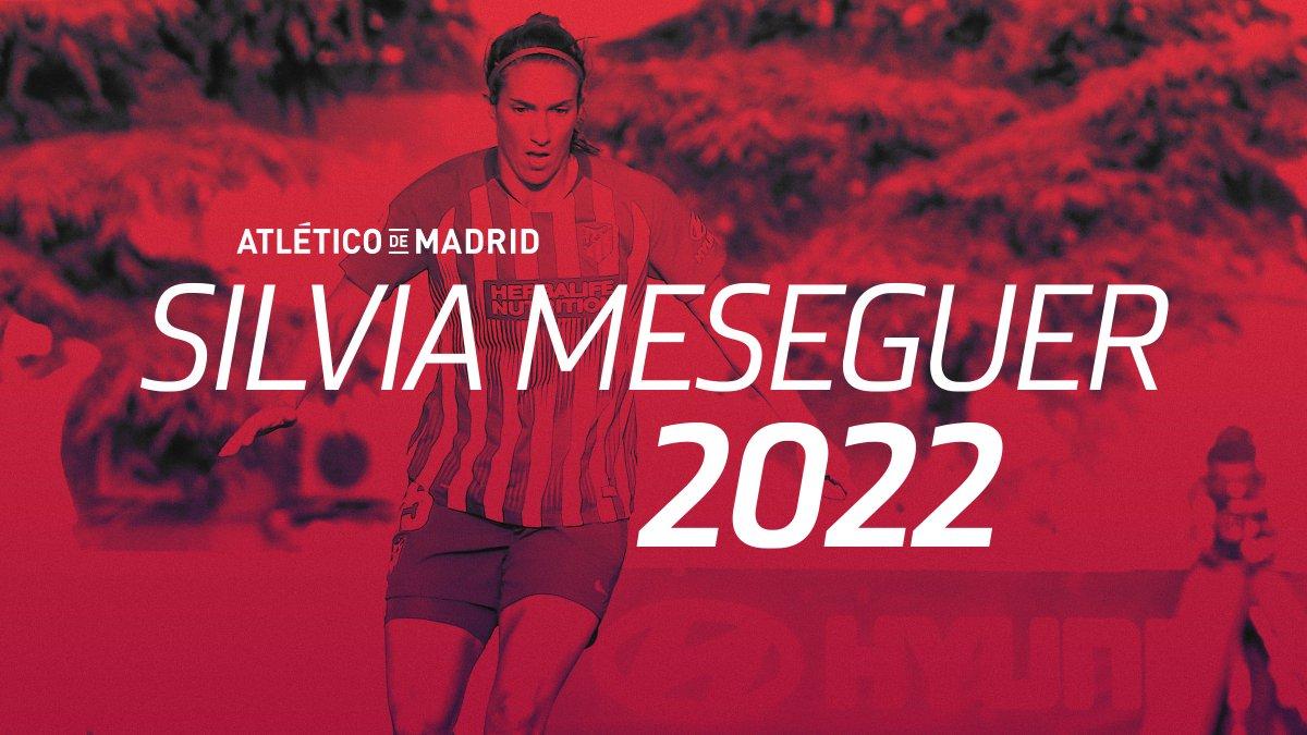 🖊 | RENOVACIÓN  @meseguer15 amplía su contrato tres temporadas más ➡ https://t.co/4045otyRmI #AúpaAtleti #Meseguer2022 https://t.co/ZVEjuqf77A