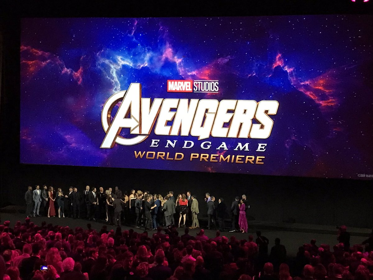 Wow #AvengersEndgame . Just wow. What a supremely satisfying film. See it as soon as you can and go in as blind as possible. <br>http://pic.twitter.com/F9ajLeSHyU