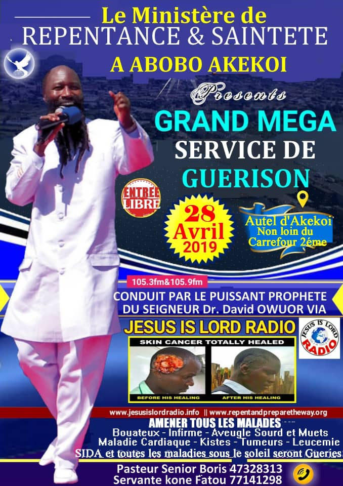 If you believe that The Blood of Jesus has Power to heal all The Diseases under The Sun then welcome someone to this  #MegaHealingAnointing this coming Sunday 28/4/2019.  Tell them The Lord has promised to release the Blood of Jesus for free. To set us free from suffering. <br>http://pic.twitter.com/iWJ4F28Ifs