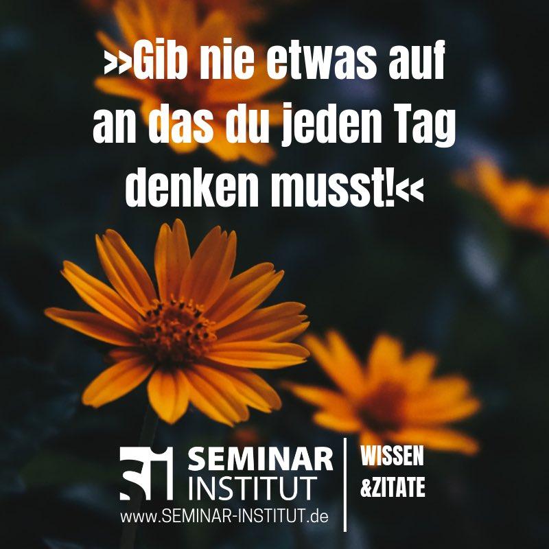 Twitter पर Seminar Institut Aufgeben Ist Niemals Eine