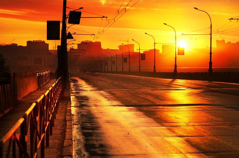 Новогоднюю, картинки утро в городе