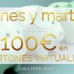 Image for the Tweet beginning: ¿Quién quiere cartones virtuales? ¡Hoy