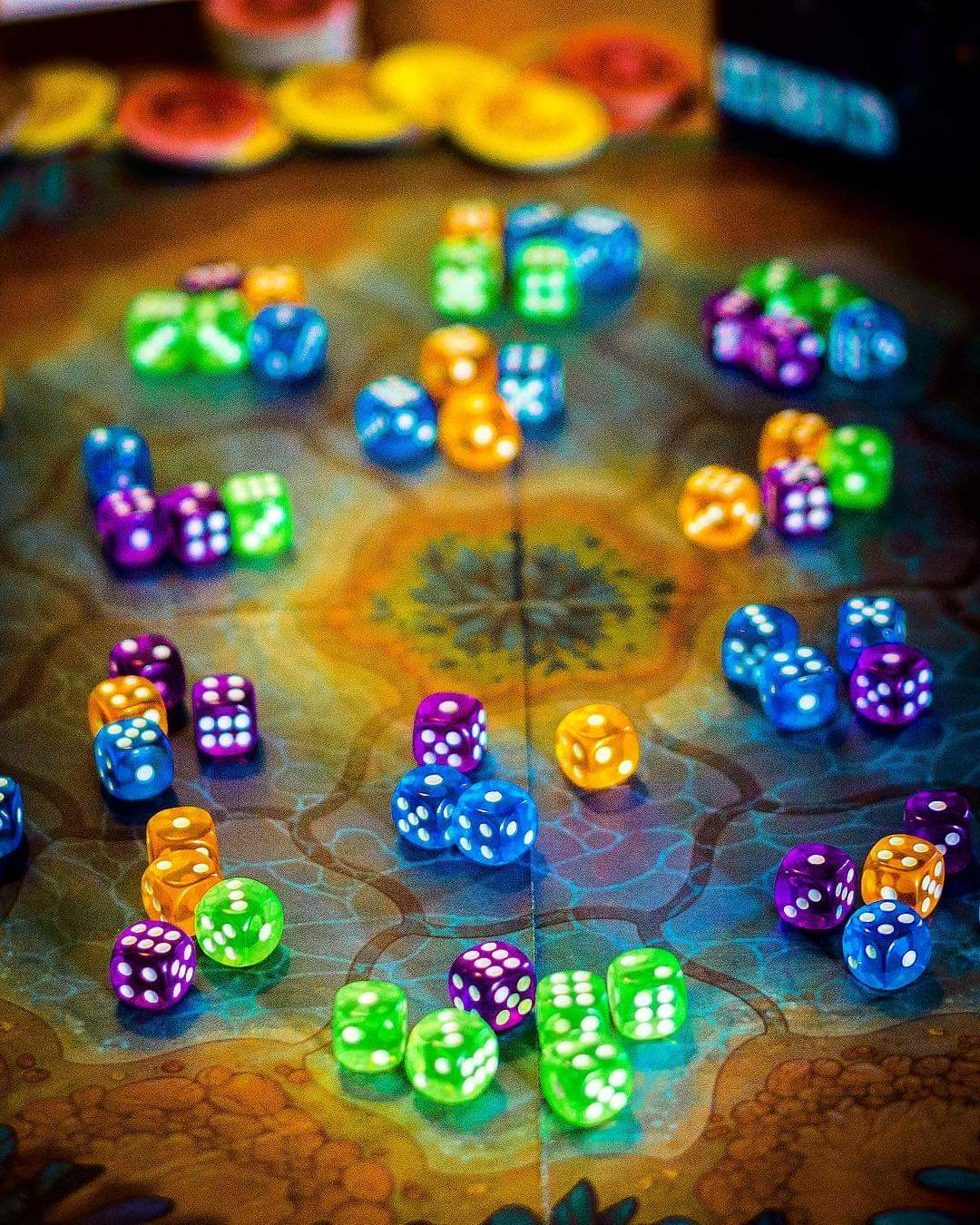 Board Game Barrage On Twitter Noctiluca This Is A Filler Game