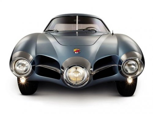 67 years ago today (23 April 1952) the #Abarth 1500 Biposto (Bertone) coupe, an experimental coupe designed by Franco Scaglione, who worked for Bertone at the time, was unveiled at the Turin Auto Show. https://bit.ly/2vzVsJL