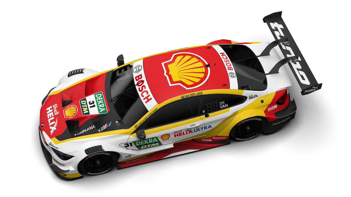 Dtm On Twitter New 2019 Livery This Is Sheldon Van Der Linde S