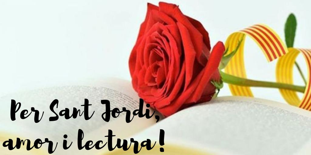 Des de Sant Cugat us desitgem una bona diada de Sant Jordi!#santjordi #santcugat #catalunya
