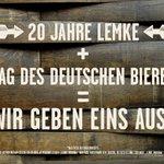 Image for the Tweet beginning: Kommt ins @brauhauslemkeamalex und stoßt