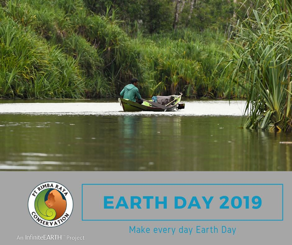 Let's celebrate Earth Day every day. We protect nearly 65,000 hectares of peat swamp forest in Central Kalimantan in Indonesian Borneo- avoiding more than 130 million tonnes of carbon emissions. We want to protect our earth for future generations, do you? https://t.co/B3rZulvLW3