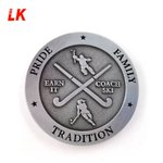 Image for the Tweet beginning: Really cool custom metal coin