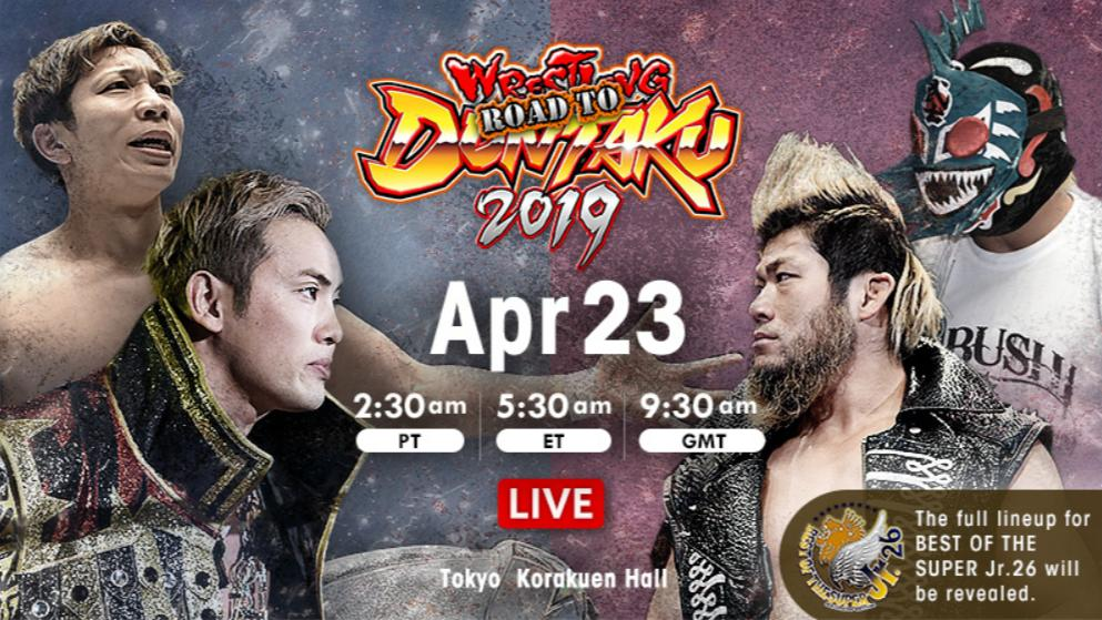 We go live in under an hour for the second of three days in Korakuen Hall for #njdontaku! YOH and Okada take on BUSHI and Takagi in our main event! Best of the Super Juniors lineup will be revealed! Wherever you are, be there with @njpwworld ! #njbosj #njpw<br>http://pic.twitter.com/XzflkXsvri