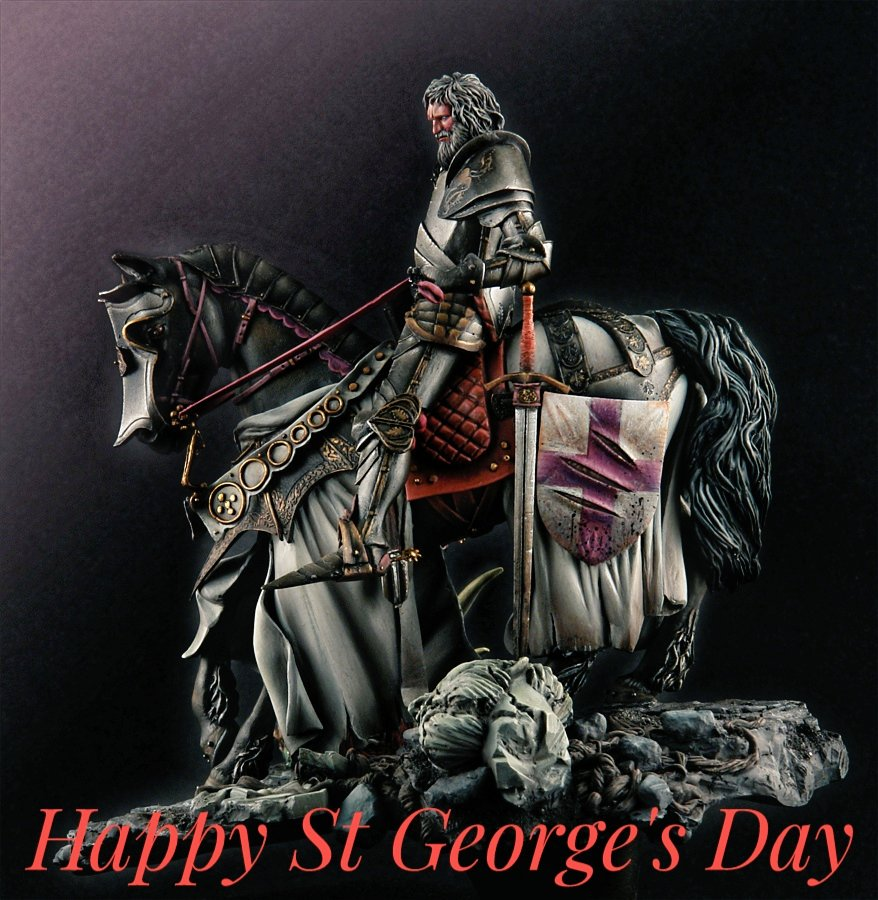 Happy #StGeorgesDay  my fellow patriots. <br>http://pic.twitter.com/0onCpuMxYx