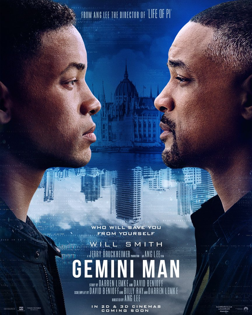 From the visionary Ang Lee and Academy Award nominee Will Smith. #GeminiMan, coming soon.<br>http://pic.twitter.com/H4JBKxMAQb