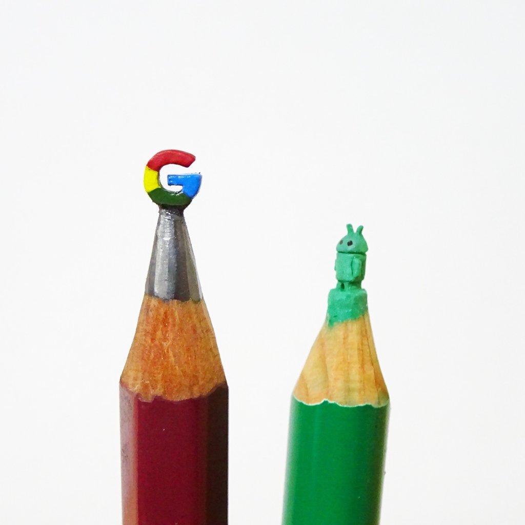 #あなたがやめられないものは 鉛筆の間違えた使い方。