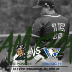 Image for the Tweet beginning: GAMEDAY! @crcbaseball welcomes @WBUEAGLES today