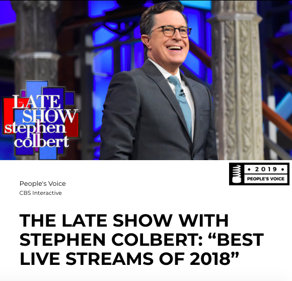 #LSSC won two Webby Awards! Congrats to all the other Winners, and thanks to all who voted!  http:// wbby.co/winners  &nbsp;   #Webbys<br>http://pic.twitter.com/JkmaD6ooNg