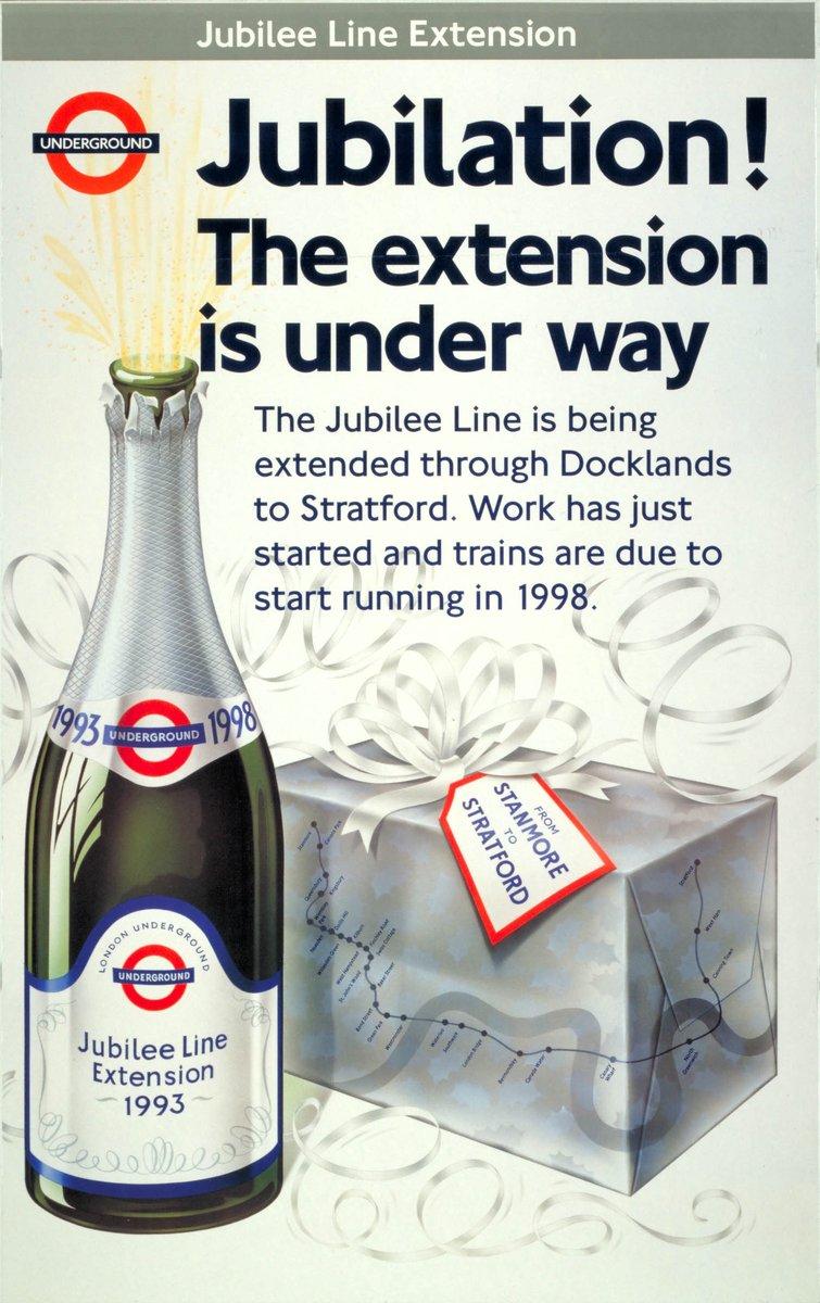 D41FyvFWAAATV V - Jubilee Line 40th Anniversary