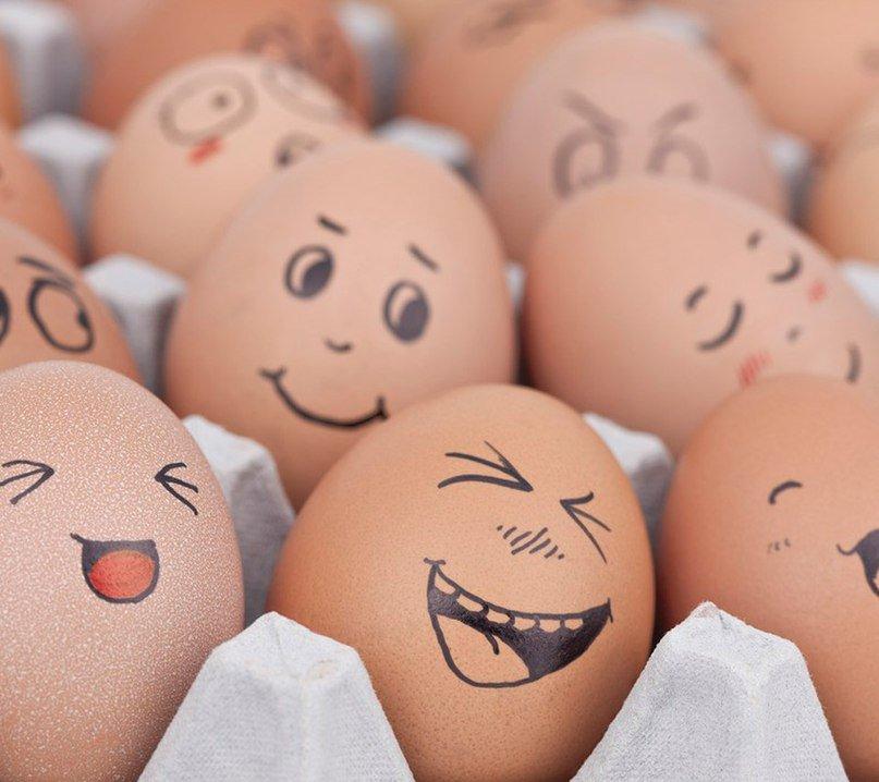 Прикольные картинки яйца на пасху