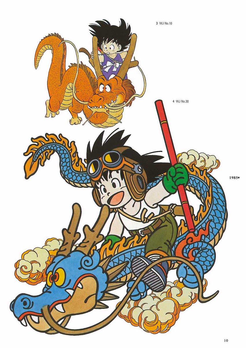 Aujourdhui, le 23 avril, cest le jour du dragon apparemment au Japon Une tradition dorigine espagnole. Du coup je célèbre ça avec des illustrations dAkira Toriyama #ドラゴンの日 #ドラゴンボール #DragonBall
