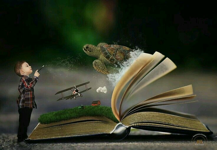 Картинка про книги и чтение