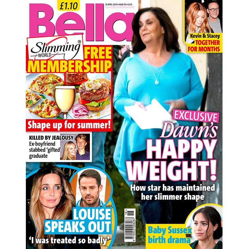 0453094e43d0 Your brand new issue of Bella is on sale now! Packed full of the latest  celebrity gossip, real life stories - and this week, a FREE @SlimmingWorld  ...