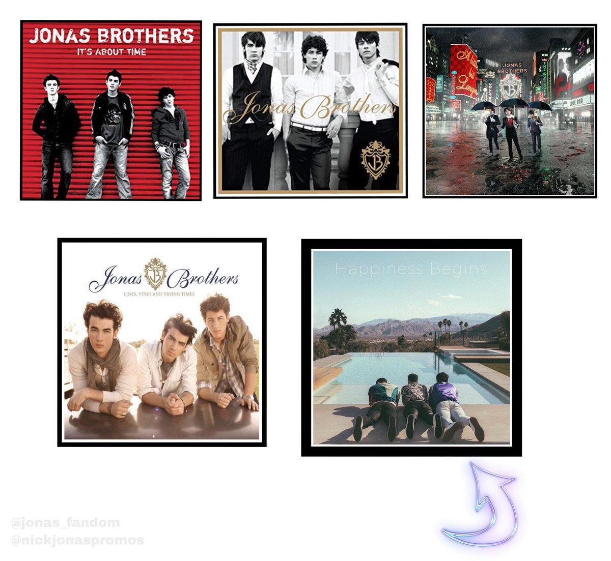 RT if you're excited about this one!! @jonasbrothers @nickjonas @joejonas @kevinjonas #JonasBrothersAlbums   #HappinessBegins  #AlbumOfTheYear <br>http://pic.twitter.com/eZKcj85ZSX