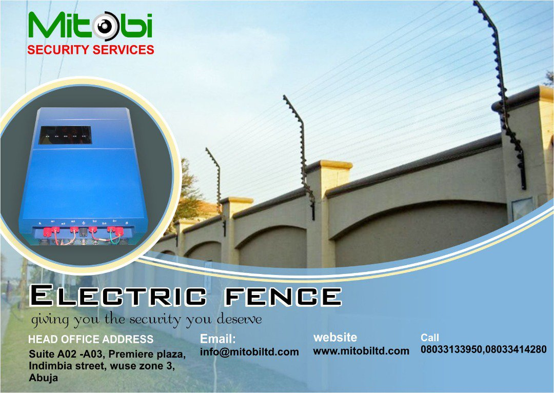 We hope everyone had a beautiful Easter break, we are back in the office and we look forward to embrace all security challenges/solutions. Check out this secured and guaranteed electric fence at our store. We sell, We Install, We maintain. #mitobisecurity #electricfencing