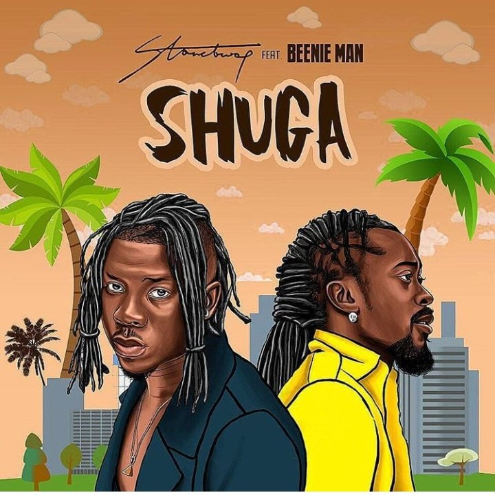 Stonebwoy can make you taste super in #SHUGA. What? Man is a gem. Ghana is sleeping on you. @stonebwoyb our next Grammy nominee and first Winner.    <br>http://pic.twitter.com/rgKVloKaGb