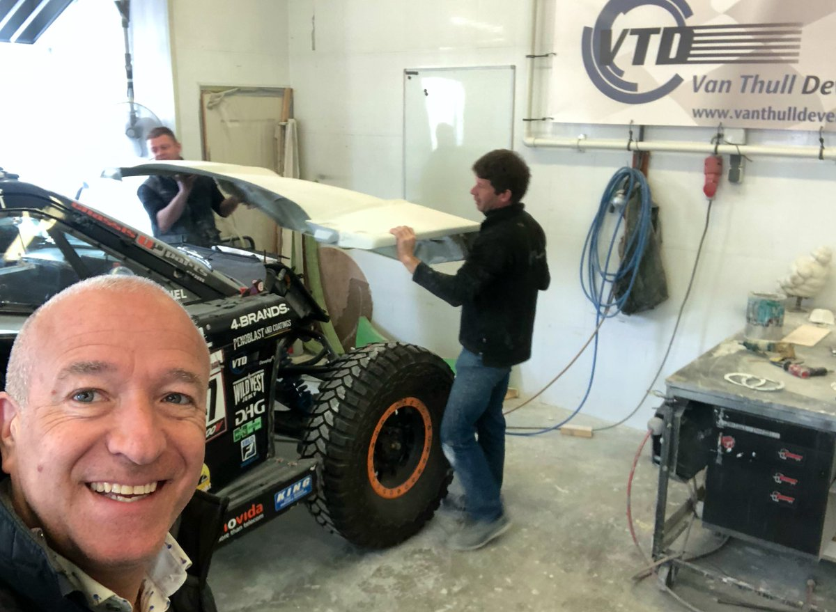 Working on #Dakar2020 and it hopefully stays on  <br>http://pic.twitter.com/XBMhegR918