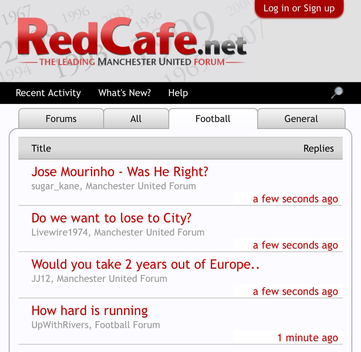 You can tell it's been a traumatic week for Manchester United when @red_cafe is just a list of existential questions