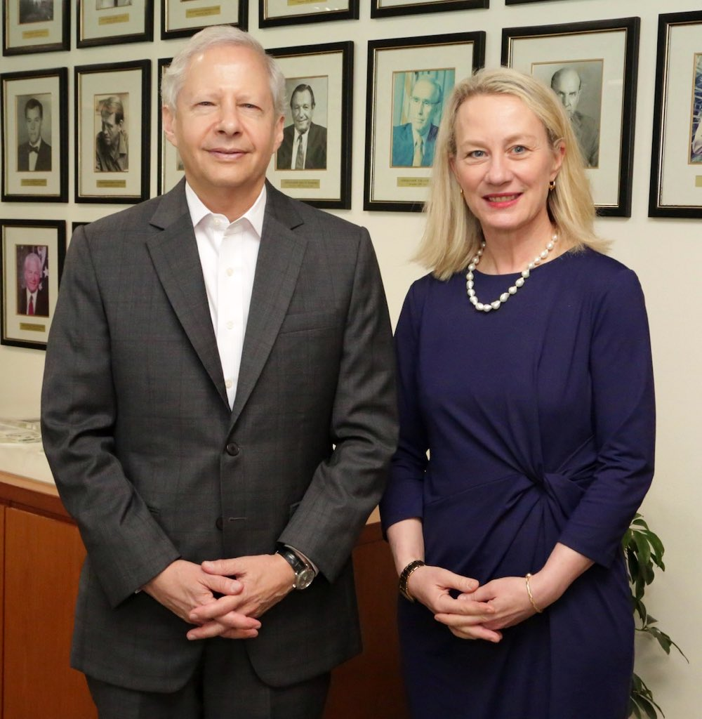 Great to have Ambassador Alice Wells, Senior Bureau Official for South and  Central Asia, back at the U.S. Mission in India. Working to further  strengthen ...