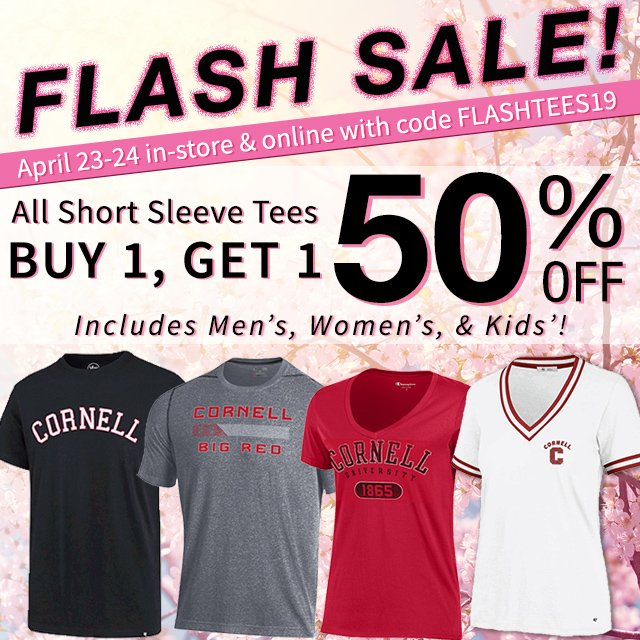 bf99161d Buy 1, Get 1 50 percent off all short sleeve tees.
