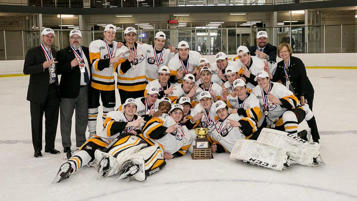 Congratulations to Team Pittsburgh, the back-to-back champions of America's Showcase tournament.  The twenty players from the PA Interscholastic Hockey League went 6-0 in the tournament and outscored its opponents, 54-5. 😮  Details: https://pens.pe/2VrZdgh