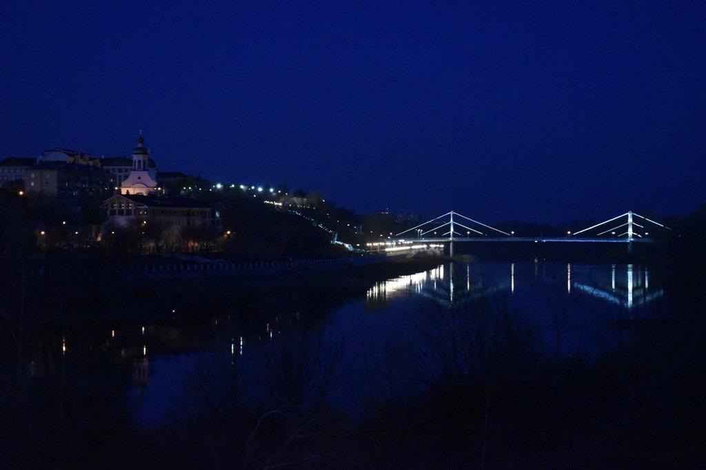 столица оренбург фото ночью первоначально гостям европолиса