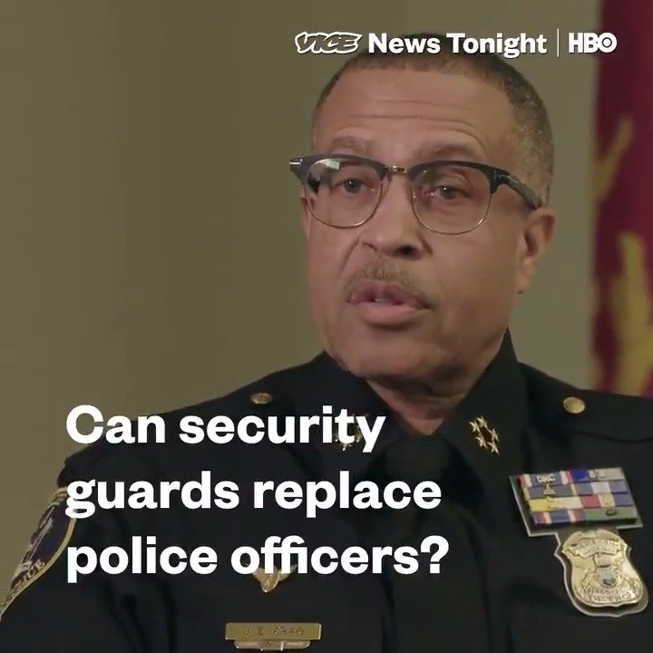 For well over a decade, Detroit has been struggling with retaining their cops. In response, an avalanche of private security companies have rushed in.  We follow one firm to find out more about their private police force on #VICENewsTonight at 7:30PM EDT on @HBO.