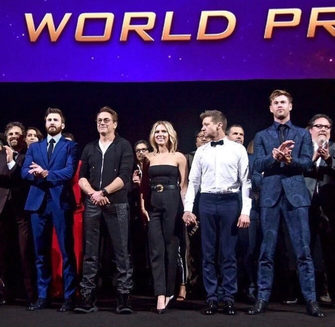 Being a part of the @Marvel family has been the trip of a lifetime. I could not have asked for a better team to spend the last seven years with. I can't wait for you all to see the epic adventure that is #AvengersEndgame 💚